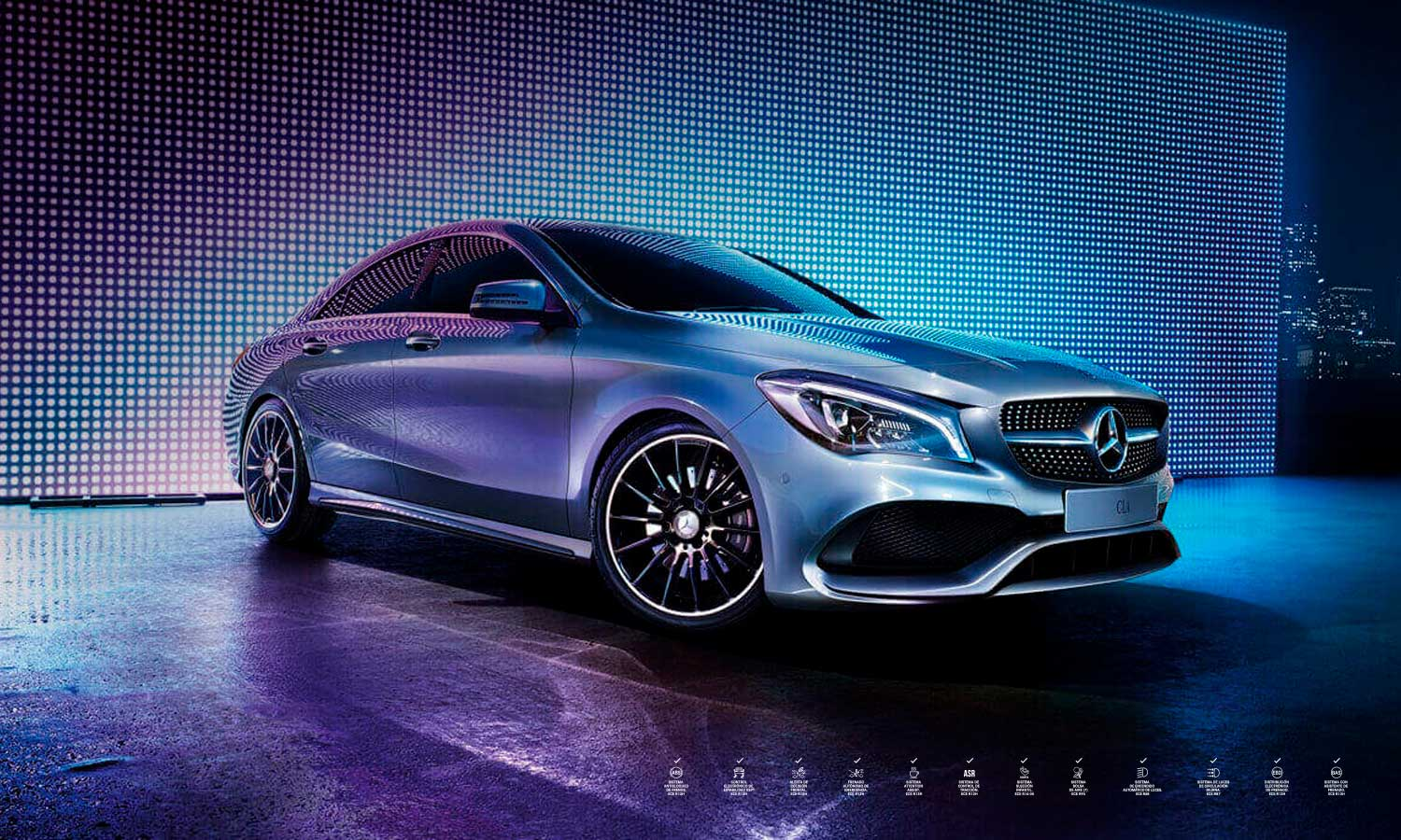 Clase CLA - 180 AMG Line frontal